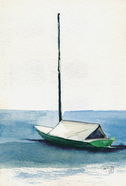 Painting - Rockport Boat Study by Paul Gaj