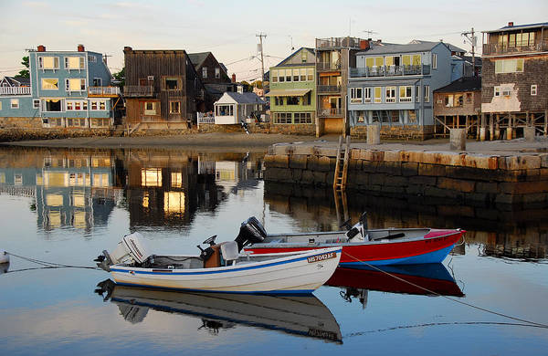 Rockport Boats Art Print