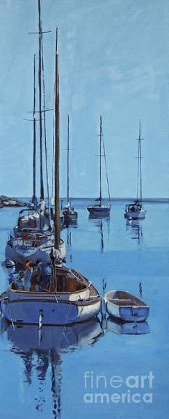 Painting - Rockport Blues by Deb Putnam
