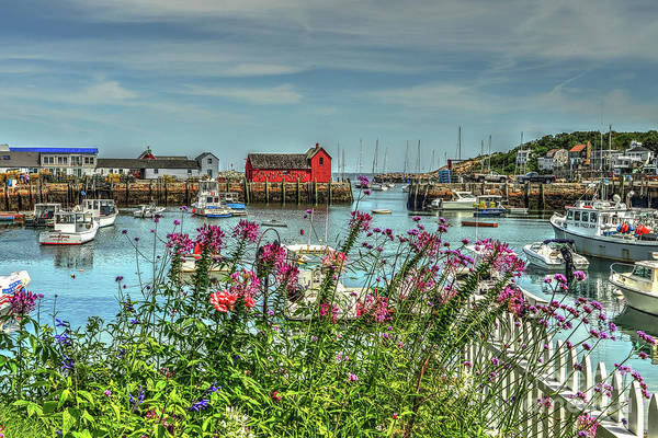 Wall Art - Photograph - Rockport Harbor  by Rick Mann