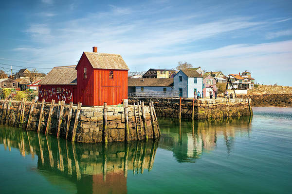 Wall Art - Photograph - Rockport Motif 1 by Marcia Colelli