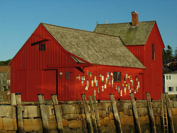 Photograph - Rockport Motif Number 1 by Juergen Roth