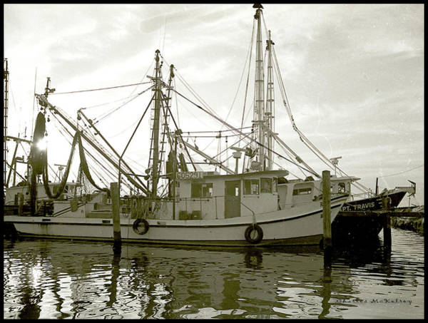 Photograph - Rockport Shrimper by Charles McKelroy