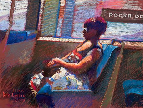 Painting - Rockridge by Ellen Dreibelbis