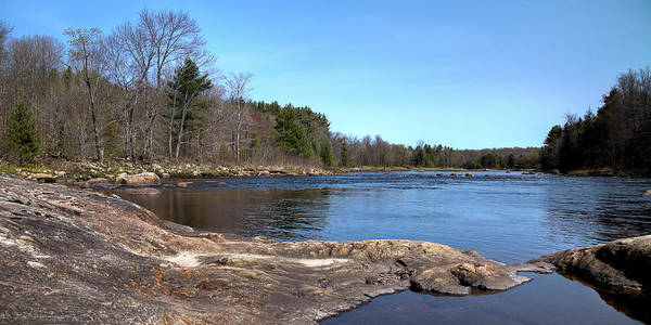 Photograph - Rocks Across The Moose River by David Patterson