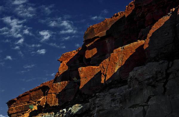 Sky And Rocks Art Print