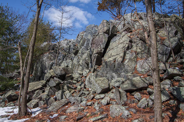 Photograph - Rocks Along The Skyline Trail by Brian MacLean