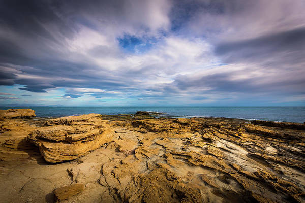 Photograph - Rocks And Clouds. by Gary Gillette