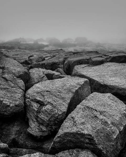 Smith Rock Photograph - Rocks And Fog by Joseph Smith
