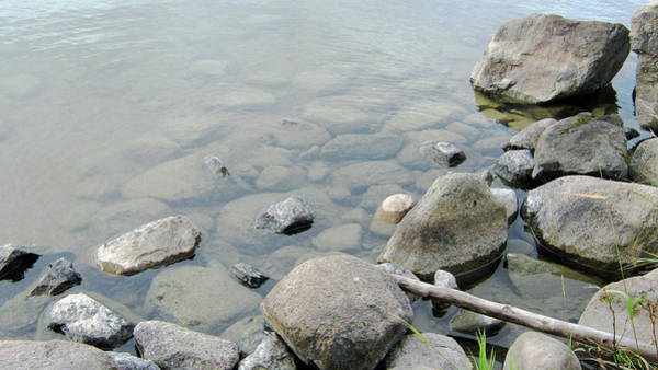 Photograph - Rocks And Water by Emma Frost