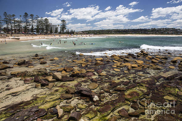 Wall Art - Photograph - Rocks At Dee Why Beach by Sheila Smart Fine Art Photography