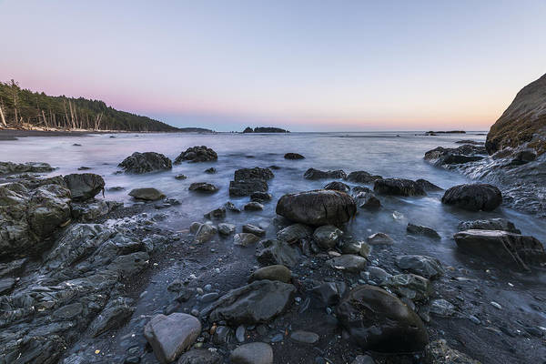 Wall Art - Photograph - Rocks In Olympic by Jon Glaser
