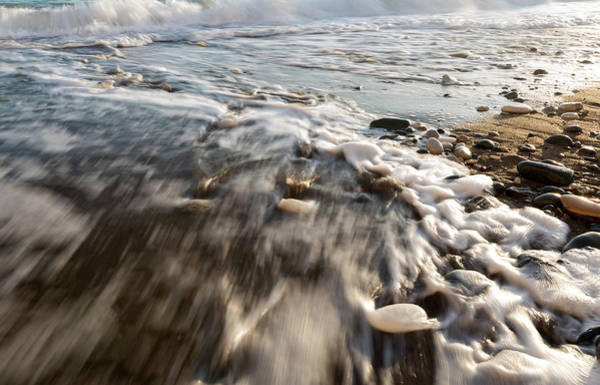 Outdoor Wall Art - Photograph - Rocks In Soft Milky Sea Water by Michalakis Ppalis
