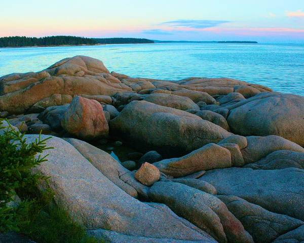 Photograph - Rocks Lying Down To Rest by Polly Castor