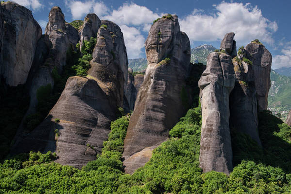 Wall Art - Photograph - Rocks Of Meteora by Jaroslaw Blaminsky