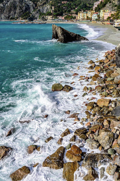 Photograph - Rocks Of Monterosso, Cinque Terre, Italy by Global Light Photography - Nicole Leffer