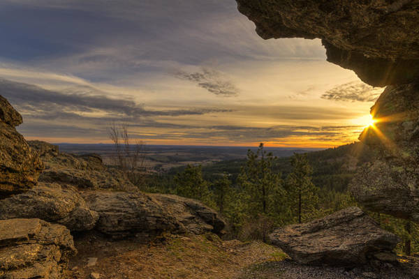Photograph - Rocks Of Sharon Vista by Mark Kiver