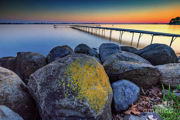 Wall Art - Photograph - Rocks On Beach Park by Andrew Slater