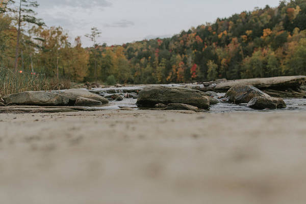 Wall Art - Photograph - Rocks On Cumberland River by Amber Flowers