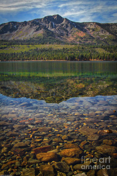Timberline Photograph - Rocks On The Bottom by Mitch Shindelbower