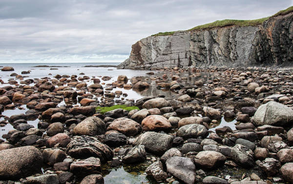 Gros Morne Photograph - Rocks Rocks And Cliff by Andrew Wilson