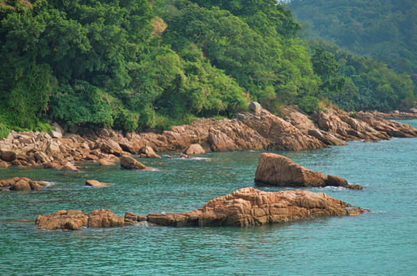Hongkong Photograph - Rocks Stanley Bay by Mariia Kalinichenko