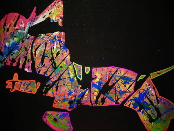 Painting - Rockstar by Dane Newton