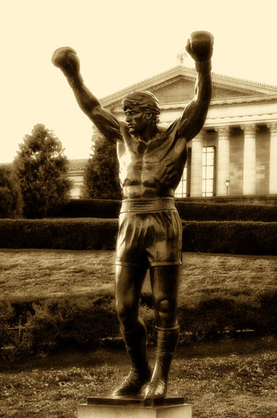 Sly Photograph - Rocky - Heart Of A Champion  by Bill Cannon