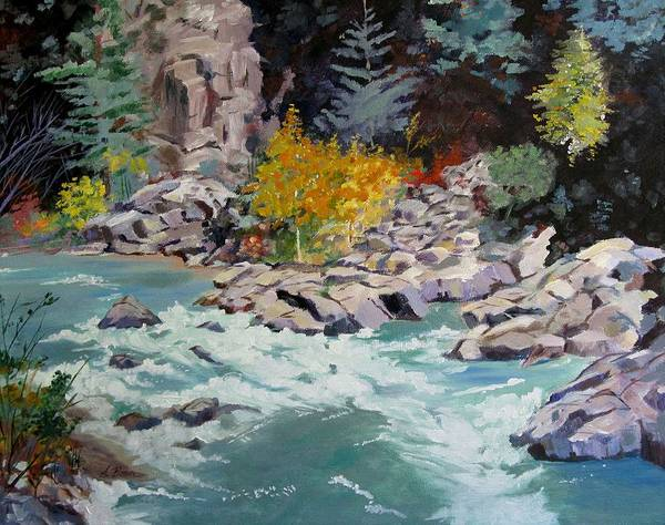 Painting - Rocky Bend by Adele Bower