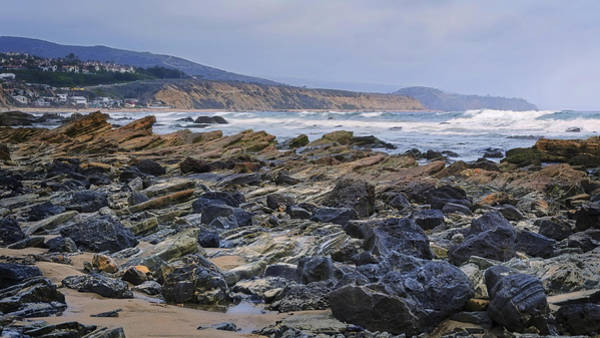 Photograph - Rocky California Beach by Joan Carroll