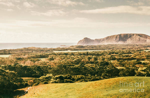 Grassland Photograph - Rocky Capes And Rugged Coasts by Jorgo Photography - Wall Art Gallery