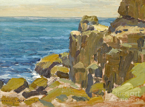Rocky Cliffs Catalina Island Art Print