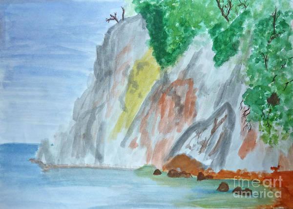 Rocky Coast Art Print