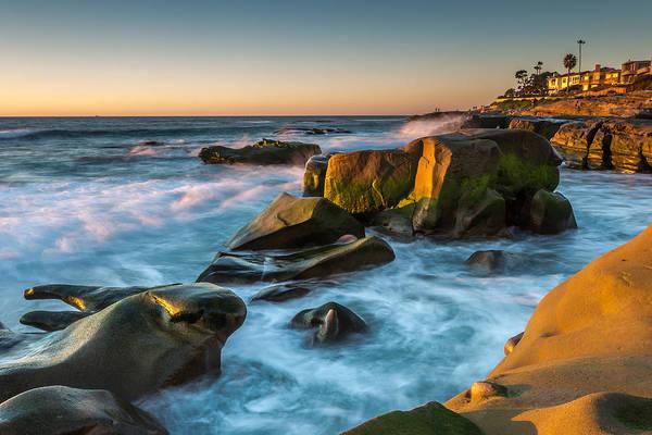 Wall Art - Photograph - Rocky Coast La Jolla by Peter Tellone