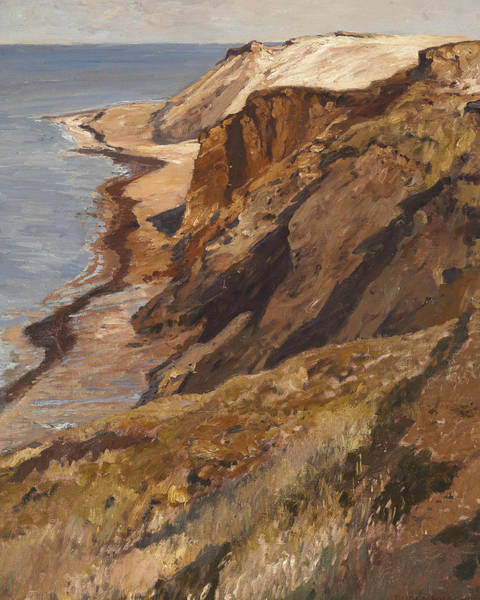 Painting - Rocky Coast On Sylt by Eugen Bracht