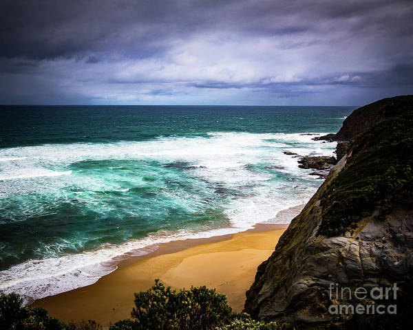 Wall Art - Photograph - Rocky Coast by Perry Webster