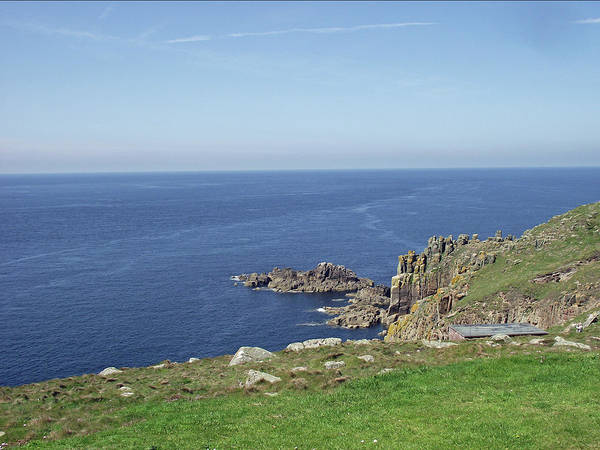 Photograph - Rocky Coastline At Land's End by Jayne Wilson