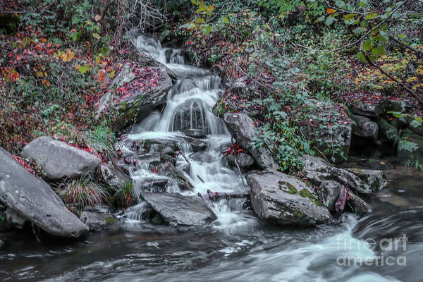 Photograph - Rocky Falls by Tom Claud