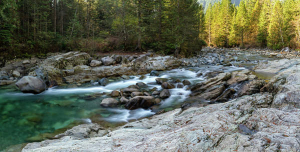 Metro Vancouver Wall Art - Photograph - Rocky Gold Creek In Golden Ears Park by Michael Russell