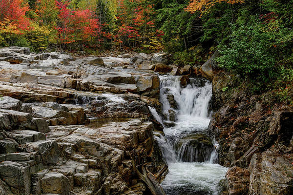 Photograph - Rocky Gorge 2 Nh by Michael Hubley