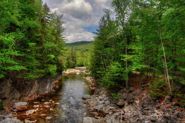 Photograph - Rocky Gorge - White Mountains by Joann Vitali