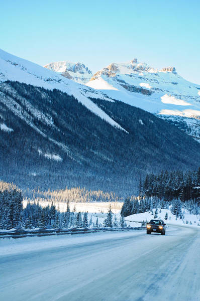 Photograph - Icefields Parkway Highway  by U Schade