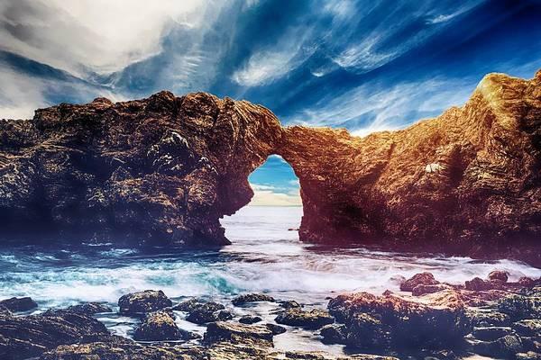Photograph - Rocky Horizon by Joy of Life Art Gallery
