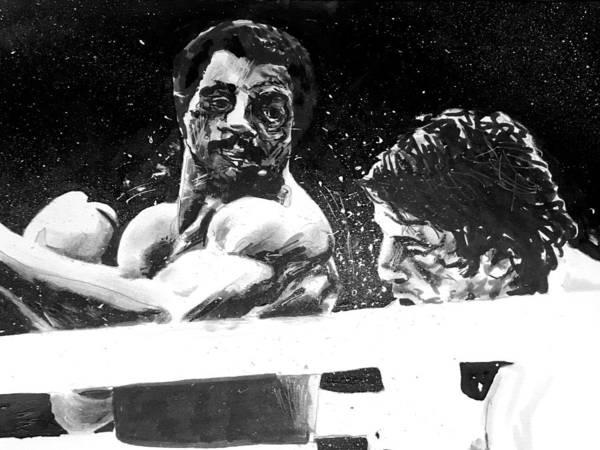 Painting - Rocky II by Joel Tesch