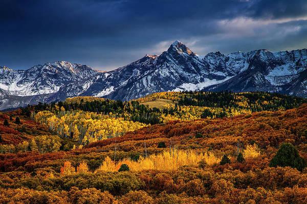 San Juan Mountains Photograph - Rocky Mountain Autumn by Andrew Soundarajan