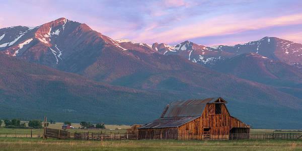 Westcliffe Photograph - Rocky Mountain Barn by Aaron Spong