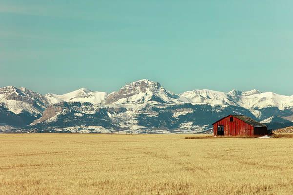 Photograph - Rocky Mountain Barn by Todd Klassy