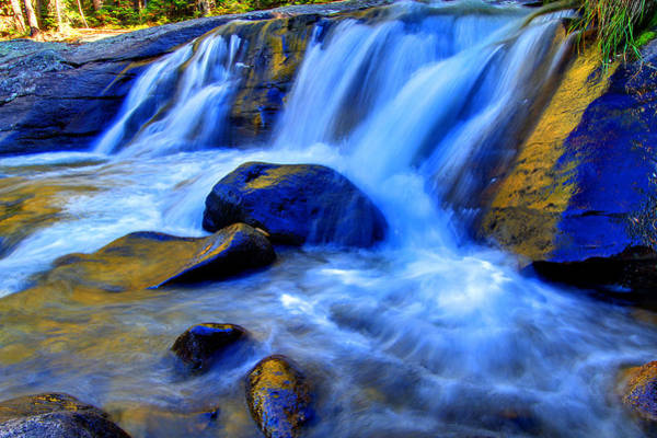 Wall Art - Photograph - Rocky Mountain Cascade by Scott Mahon
