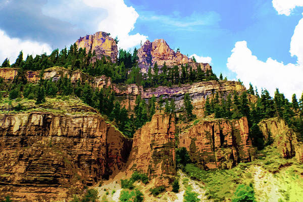 Digital Art - Rocky Mountain - Colorado by Susan Vineyard