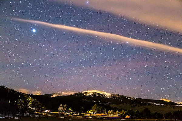 Wall Art - Photograph - Rocky Mountain Cosmic Delight by James BO Insogna